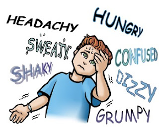تعرفوا على أعراض هبوط السكر